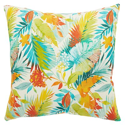 Marybeth Floral Indoor/Outdoor Throw Pillow