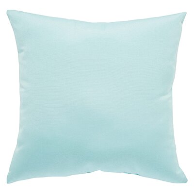Kaley Solid Indoor/Outdoor Throw Pillow Size: 20 H x 20 W x 6 D, Color: Orange