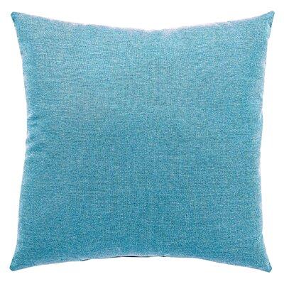 Haleigh Solid Indoor/Outdoor Throw Pillow