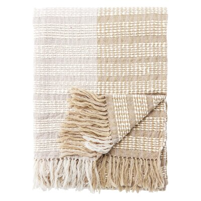 Eastburn Ticking Stripe Throw