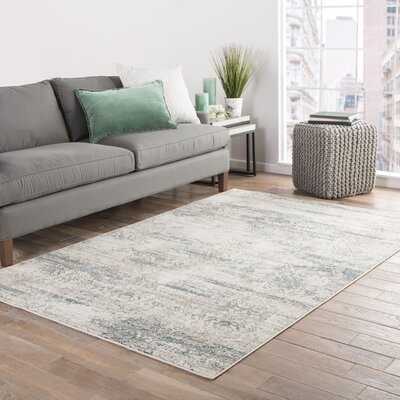 Jay Ivory Area Rug Rug Size: Rectangle 9 x 13
