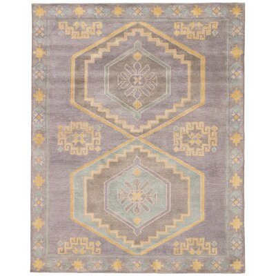 Cohen Taupe & Gold Rug Size: Round 2 x 3
