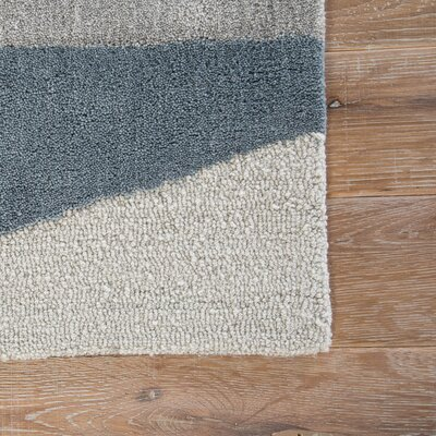 Pavlo Hand Tufted Taupe/Gray Area Rug