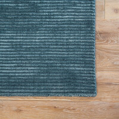 Phase Hand Woven Indigo Area Rug Rug Size: Rectangle 5 x 8
