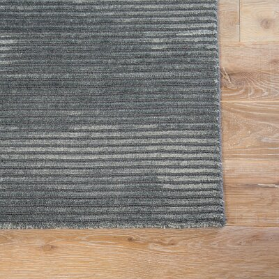 Phase Hand Woven Gray Area Rug Rug Size: Rectangle 5 x 8