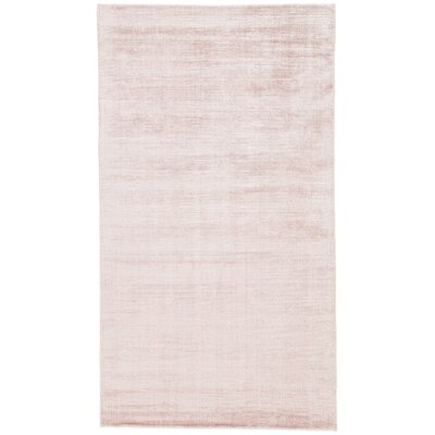 Lizette Hand Loomed Pink Area Rug Rug Size: Rectangle 9 x 12