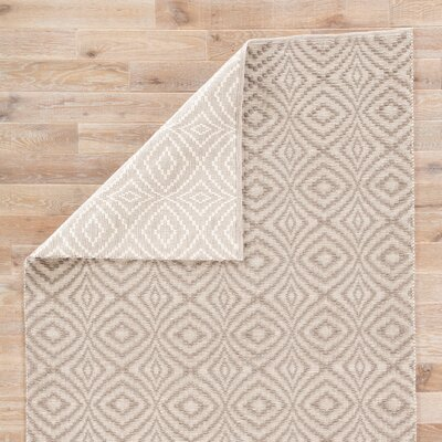 Arbor Hand-Loomed Taupe Indoor/Outdoor Area Rug Rug Size: Rectangle 2 x 3
