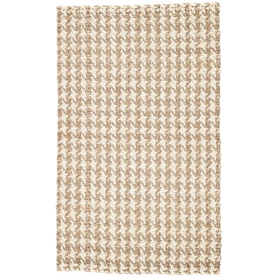 Tate Hand-Loomed Gray/Taupe Area Rug Rug Size: Rectangle 8 x 10