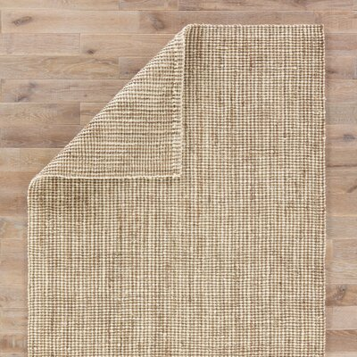 Cayman Hand Woven Tan Area Rug Rug Size: Rectangle 9 x 12