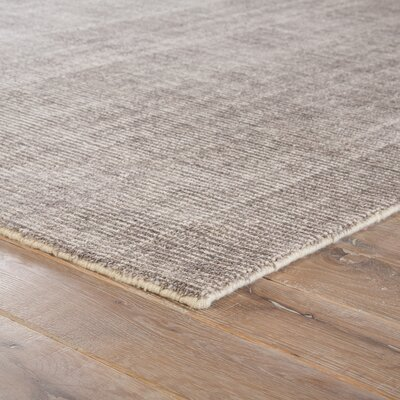 Lev Hand-Knotted Silver/Pink Area Rug Rug Size: Rectangle 9 x 13