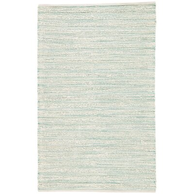 Solis Hand Woven White Area Rug Rug Size: Rectangle 26 x 4