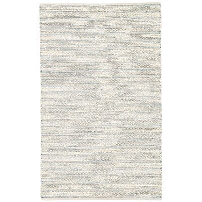 Solis Hand Woven White Area Rug Rug Size: Rectangle 96 x 136