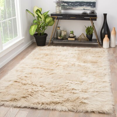 Dresden Cream Area Rug Rug Size: Rectangle 8 x 10