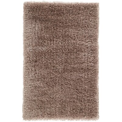 Orion Shag And Flokati Taupe Area Rug Rug Size: Rectangle 8 x 11