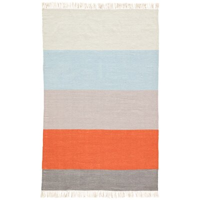 Tahoe Flat Woven Orange Indoor/Outdoor Area Rug Rug Size: Rectangle 2 x 3