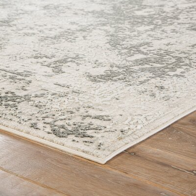 Olwyn White Area Rug Rug Size: Rectangle 9 x 12