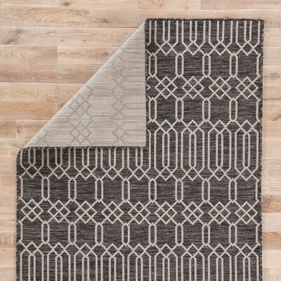Wall Street Pewter Indoor/Outdoor Area Rug Rug Size: Rectangle 2 x 38