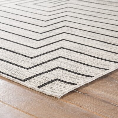 Wall Street Moonstruck Indoor/Outdoor Area Rug Rug Size: Rectangle 71 x 10