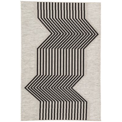 Cressey Moonstruck Indoor/Outdoor Area Rug Rug Size: Rectangle 54 x 77