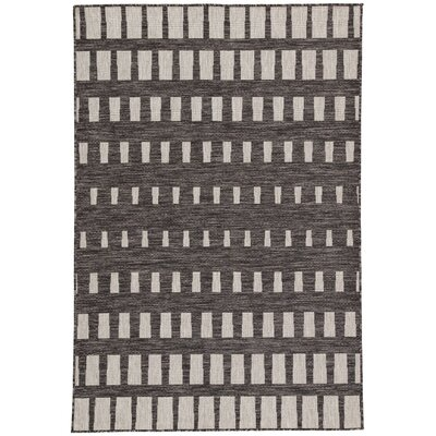 Leah Pewter Indoor/Outdoor Area Rug Rug Size: Rectangle 54 x 77