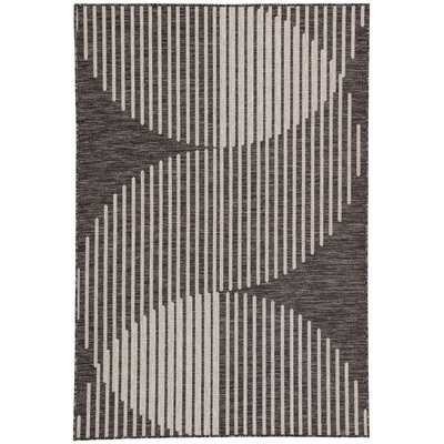 Royall Pewter Indoor/Outdoor Area Rug Rug Size: Rectangle 5'4