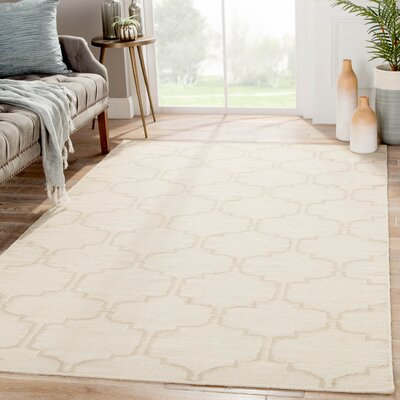 Wilder Antique White Moroccan Area Rug Rug Size: Rectangle 5 x 8