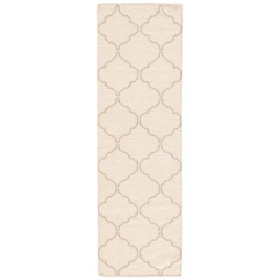Wilder Antique White Moroccan Area Rug Rug Size: Runner 26 x 8