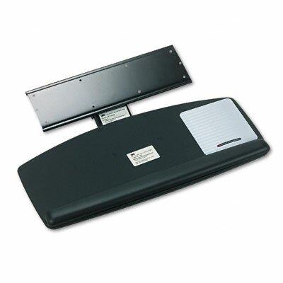 3M Easy Adjustable 27.9 H x 11.7 W Desk Keyboard Platform