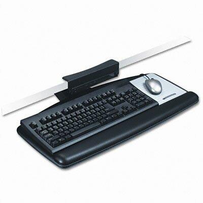 3M Easy Adjustable 7.9 H x 13.8 W Desk Keyboard Platform
