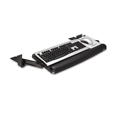3M Easy Adjustable 30.06 H x 19.69 W Desk Keyboard Drawer