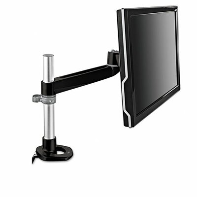 Single-Swivel Monitor Arm Height Adjustable Desk Mount