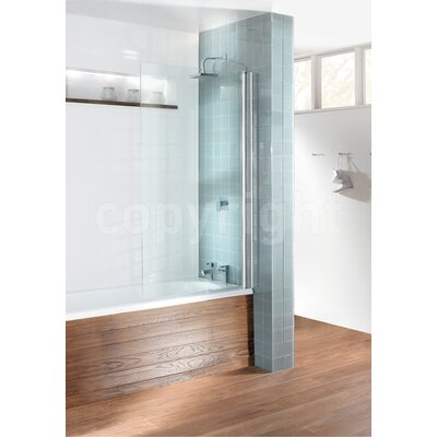 Simpsons Design Single Bath Shower Screen