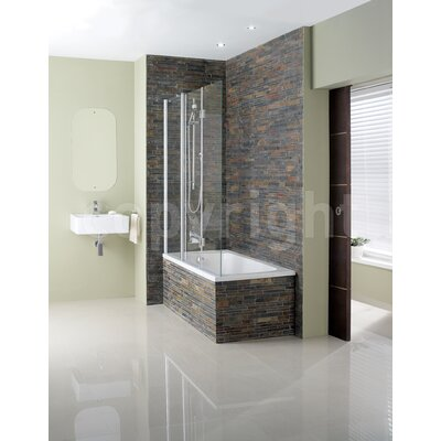 Simpsons Design Triple Bath Shower Screen