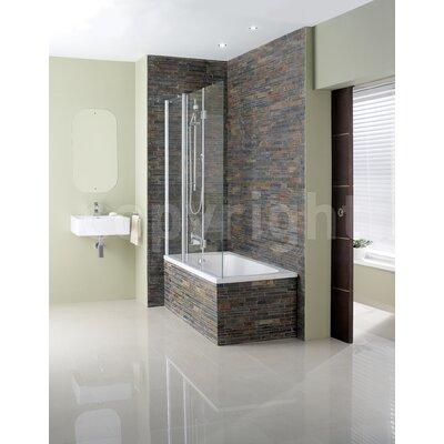 Simpsons Design Triple Bath Shower Screen