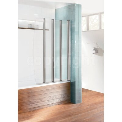 Simpsons Edge Foldaway Bath Shower Screen