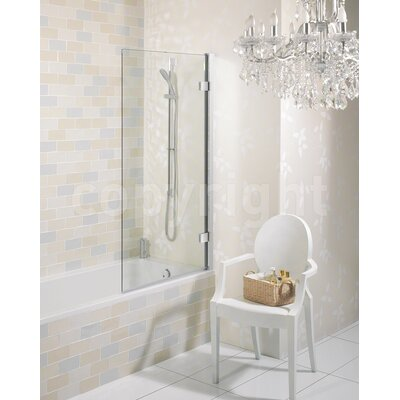 Simpsons Elite Hinged Bath Shower Screen