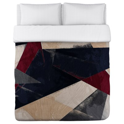 One Bella Casa Oliver Gal Abstracta HR Duvet Cover - Size: Full/Queen
