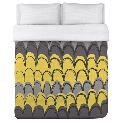 Mila Mountains Duvet Cover Size: Full Queen