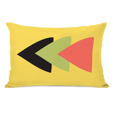 Tatyana Aztec Horizontal Triangle Lumbar Pillow