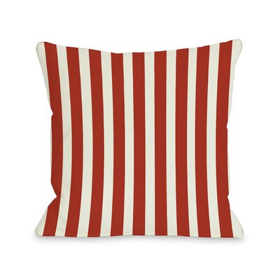 Stripes Red Pillow