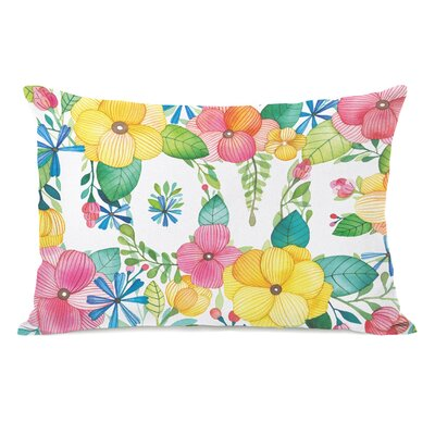Floral Love Lumbar Pillow