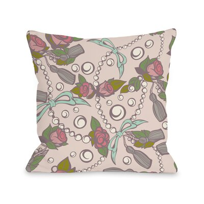 Quinns Treasures Throw Pillow Size: 18 H x 18 W