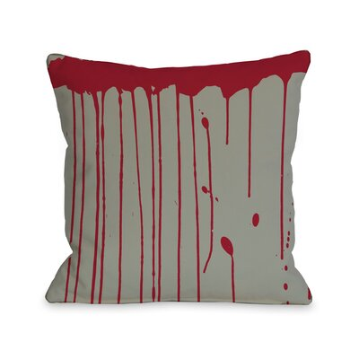 Dripping Blood Lumbar Pillow