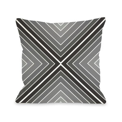 Marks The Spot Geometric Throw Pillow