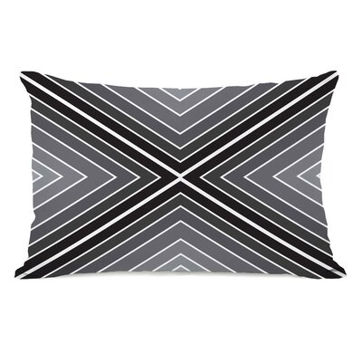 Marks The Spot Geometric Lumbar Pillow