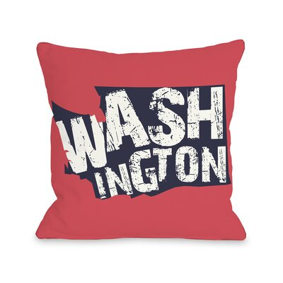 Washington State Throw Pillow