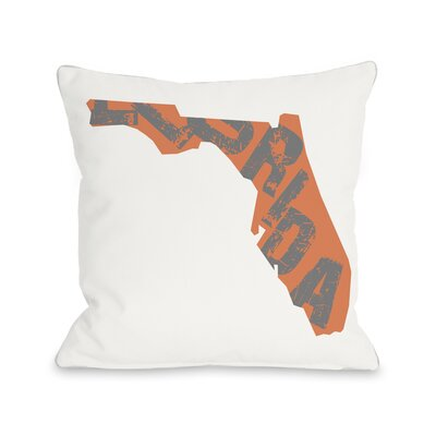 Florida State Throw Pillow