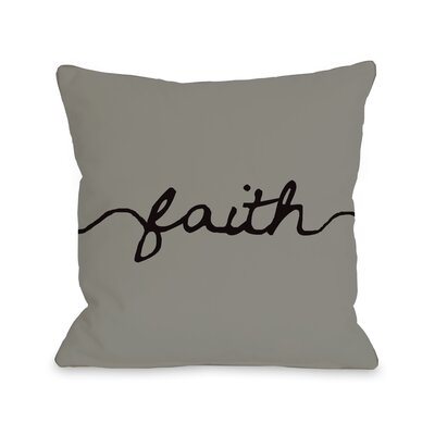 Faith Mix and Match Throw Pillow