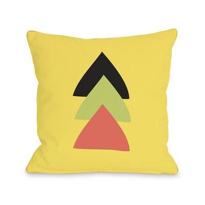 Natasha Aztec Vertical Triangle Throw Pillow