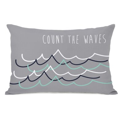 Count the Waves Lumbar Pillow